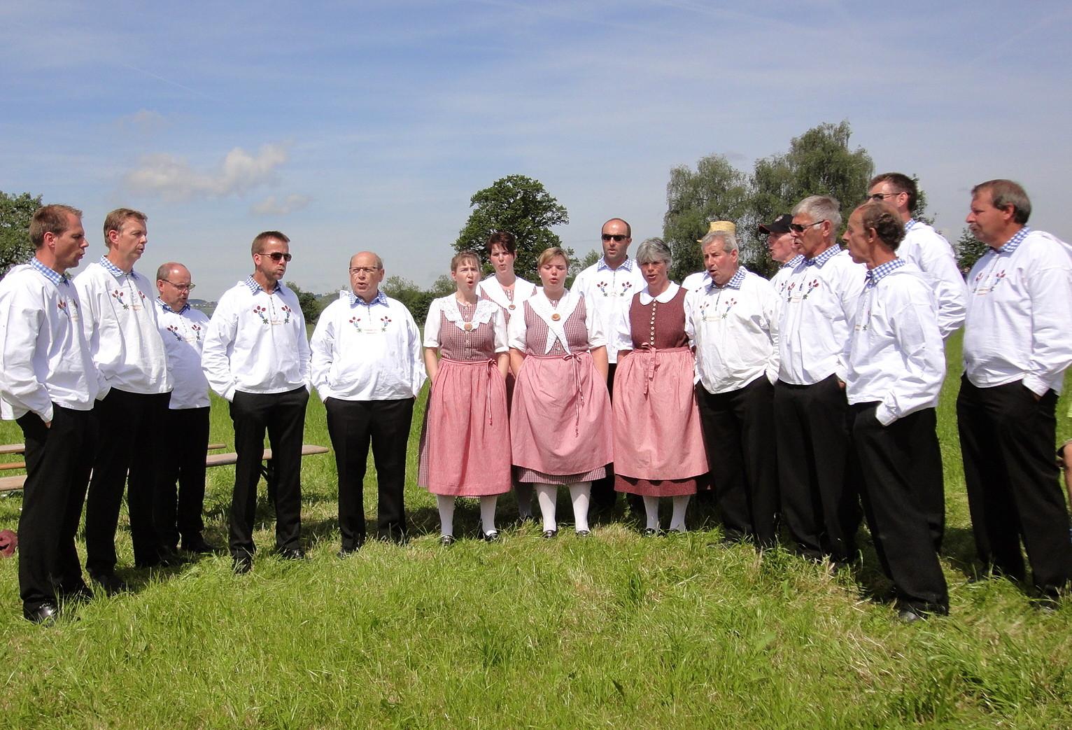 Feldgottesdienst in Ottenhusen am 31. Mai 2015