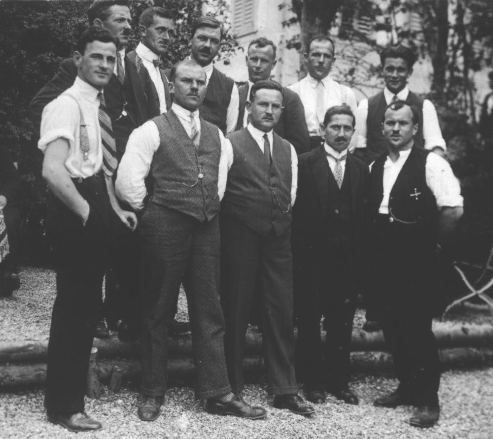 Erste Klubfoto aus dem Jahre 1931