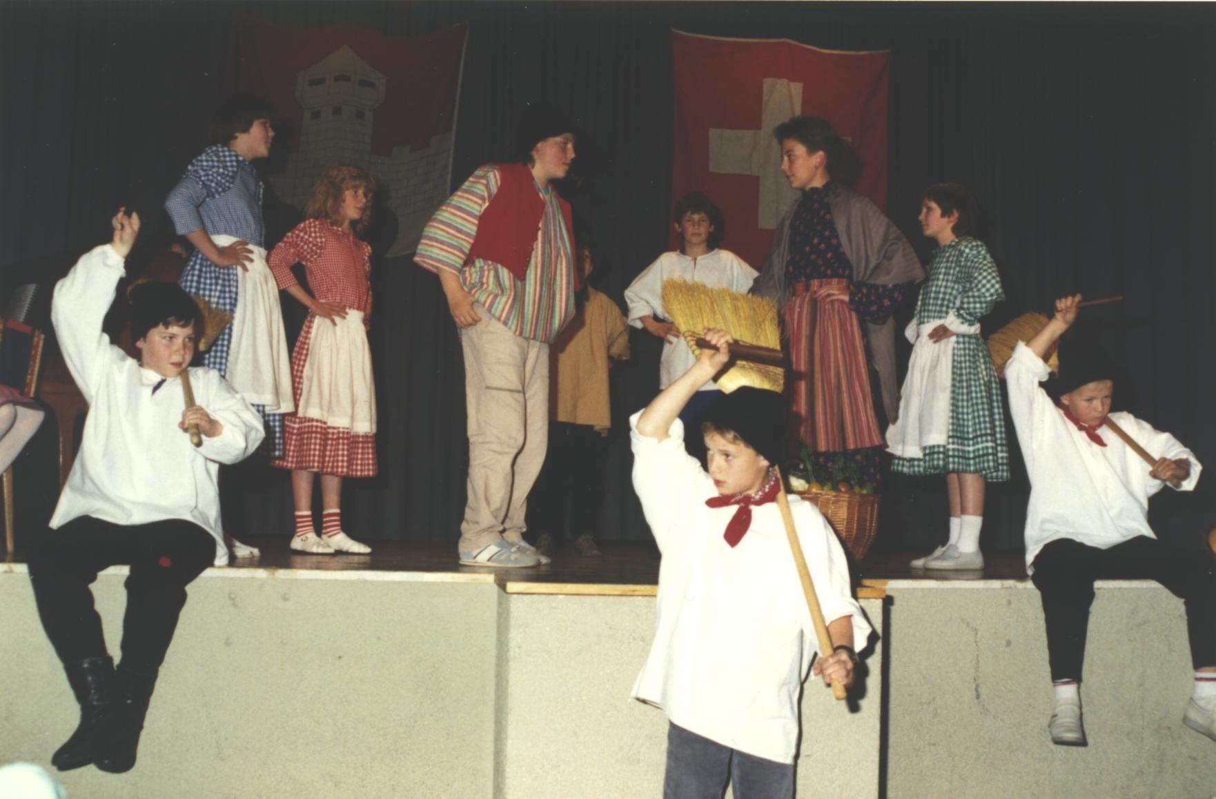 Auch die Jugend hat am Jubiläum 1990 mitgewirkt