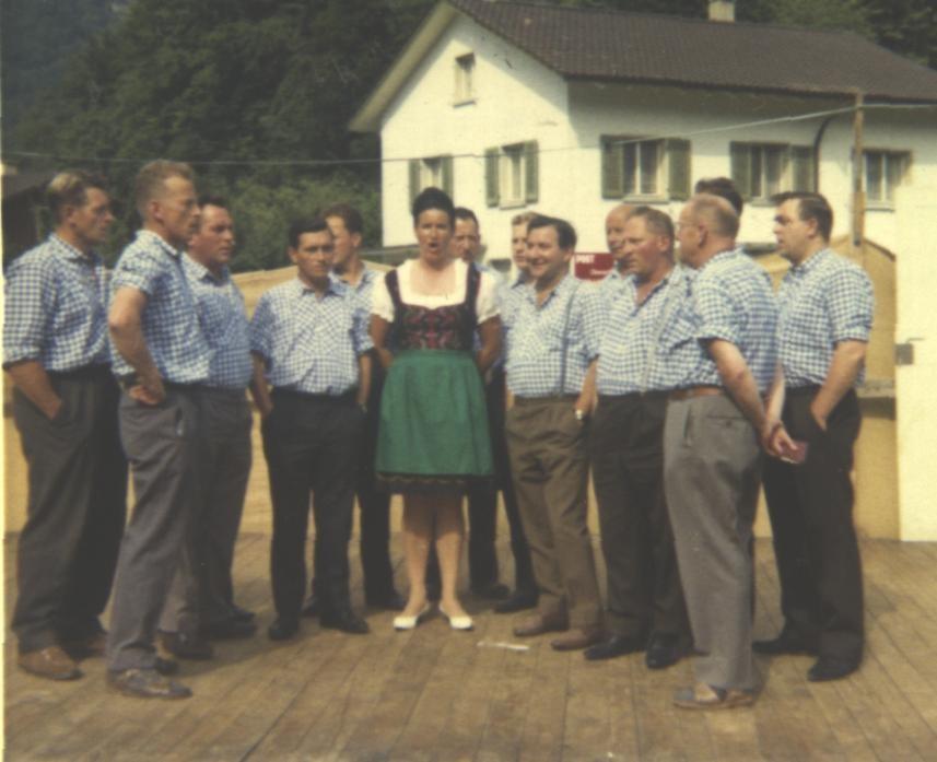 Am Wiesenfest 1968