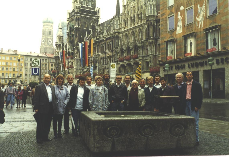Jodlerreise ans Oktoberfest in München 1992