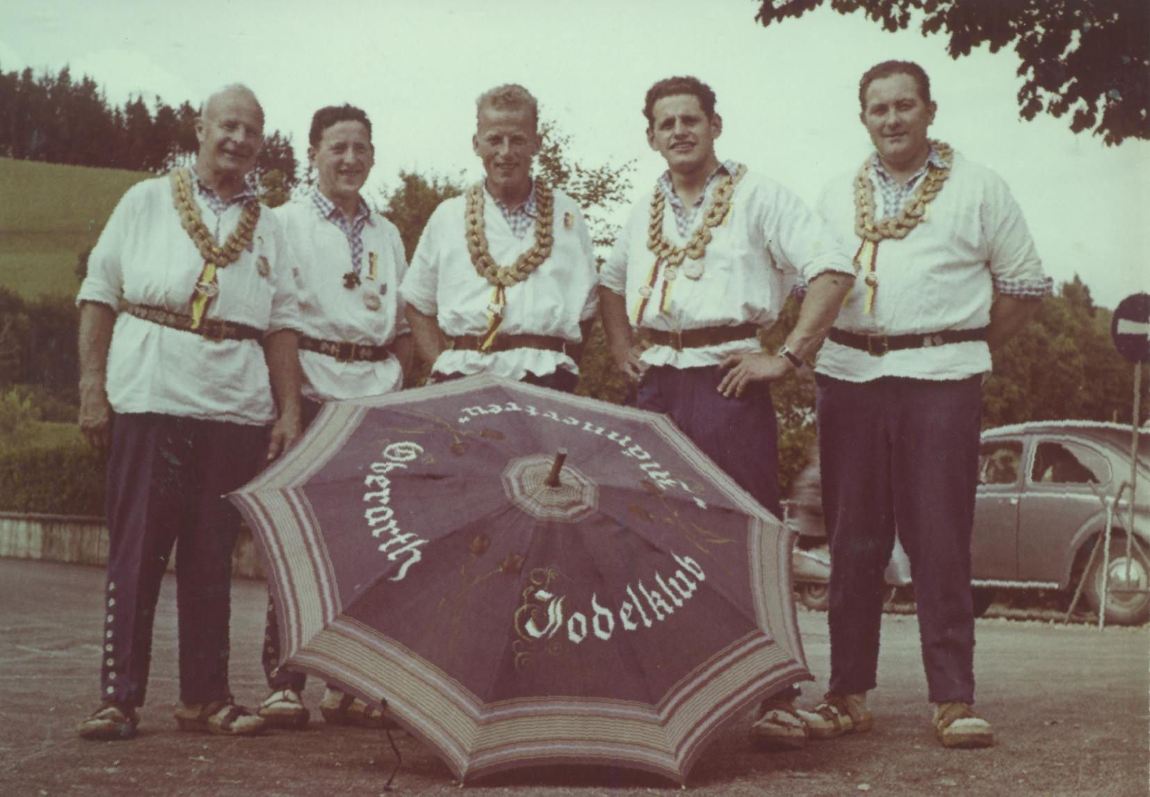 Am ZSJV-Jodlerfest 1960 in Willisau