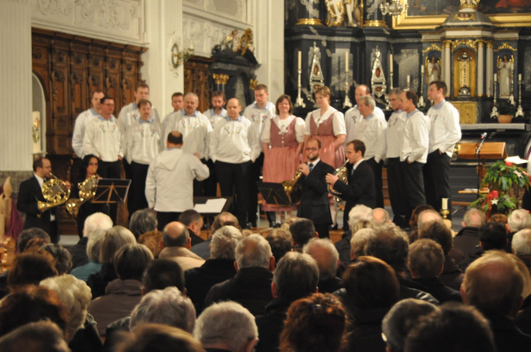 2010 Kirchenkonzert zum 80-Jahr-Jubiläum des JK Männertreu