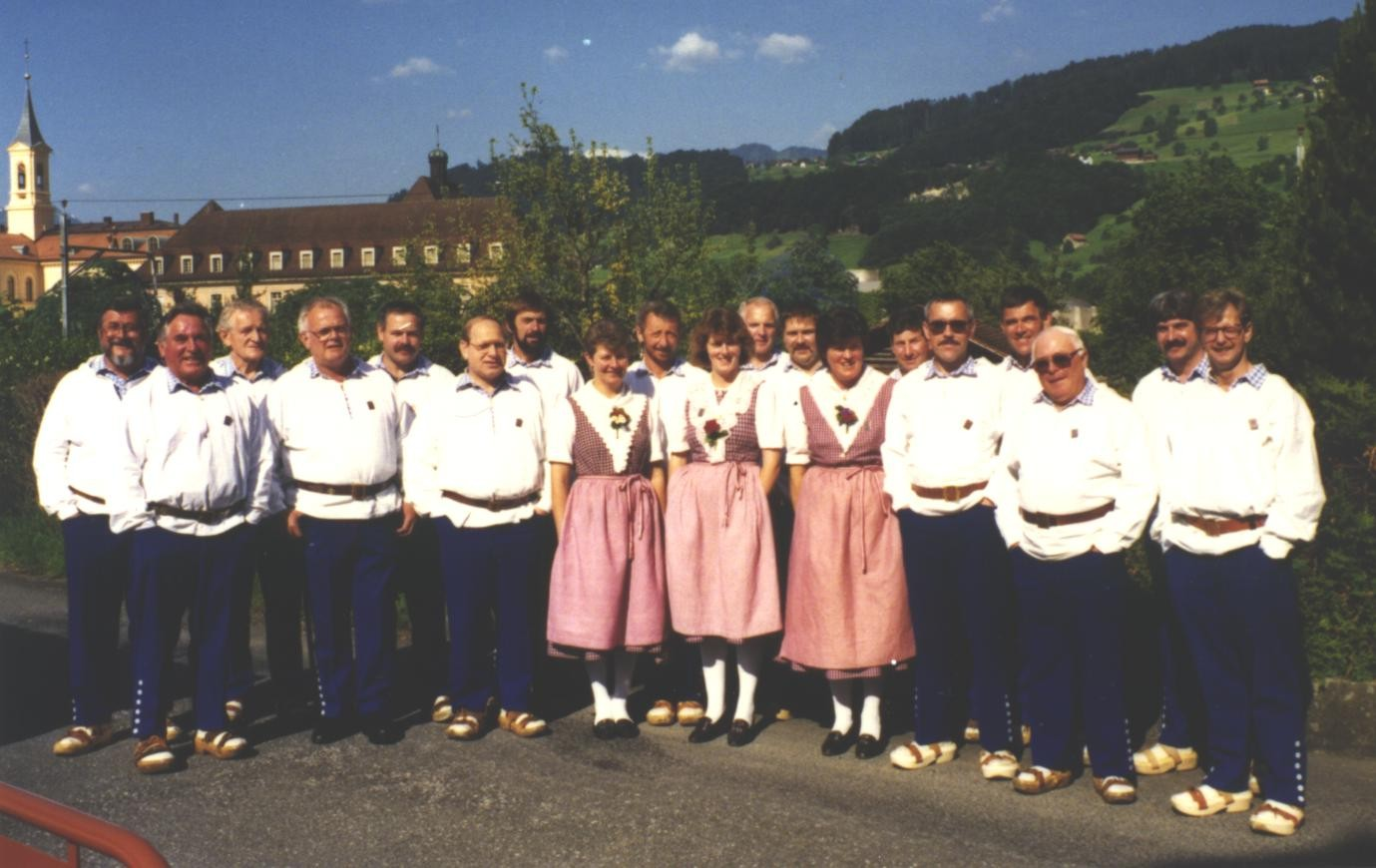 Am Jodlerfest 1993 in Sarnen