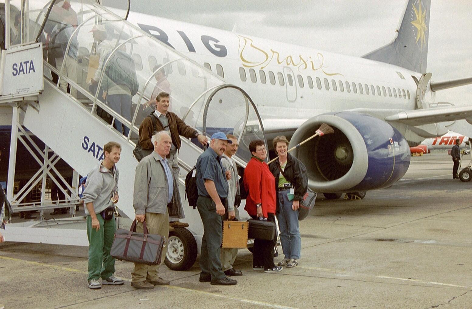 Rückflug nach Rio de Janeiro