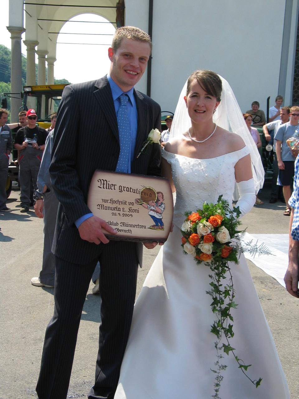 2006 Hochzeit von Koni und Manuela