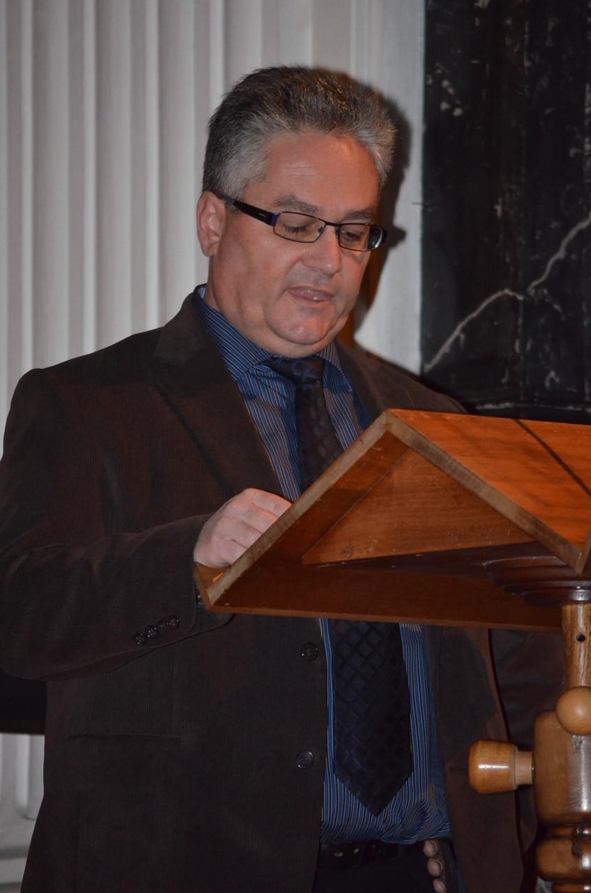 Unser bewährter Speaker Urs Heiniger