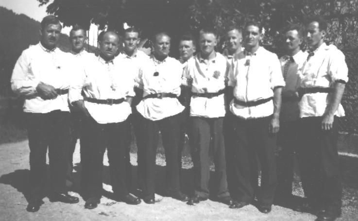 Der Club am Volksfest 1936