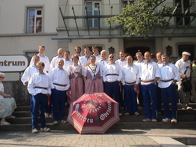 Am Jodlerfest 2006 in Einsiedeln