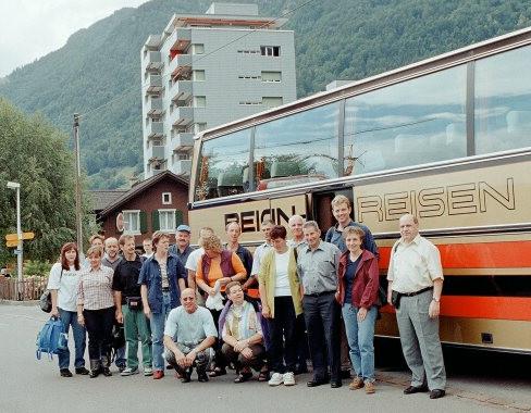 Die Reisegruppe aus Oberarth
