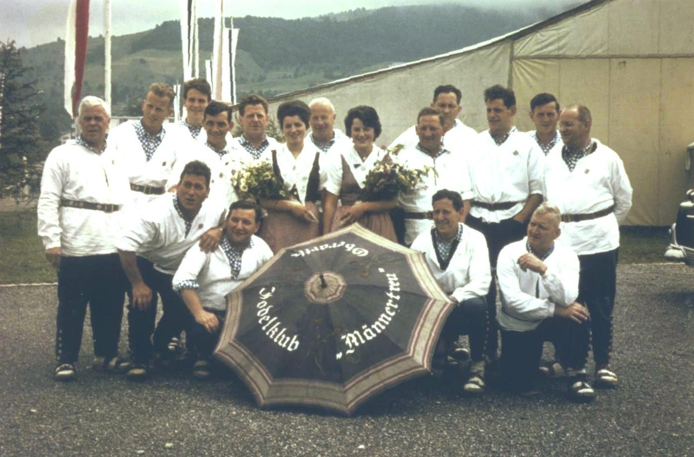 Am ZSJV-Jodlerfest 1963 in Zug