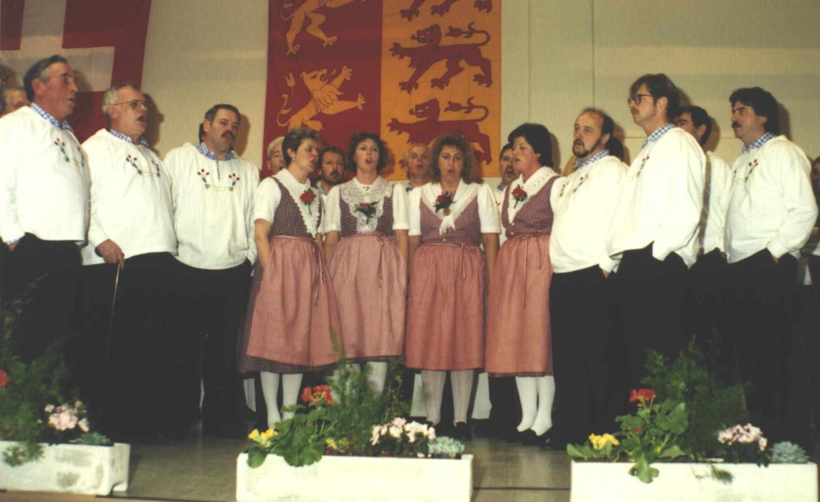 An der ZSJV-DV 1994 hatte der Klub die Ehre aufzutreten