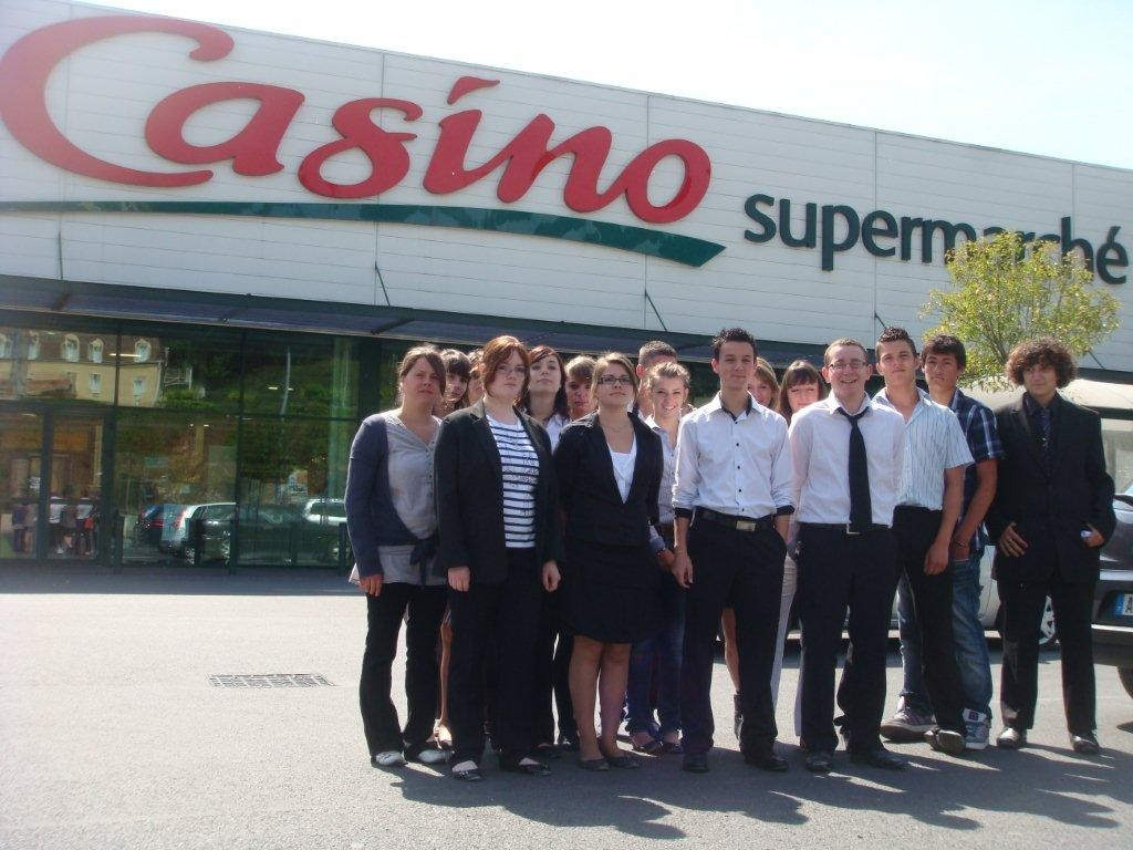 2BPCO - Visite du supermarché CASINO le 10 mai 2011