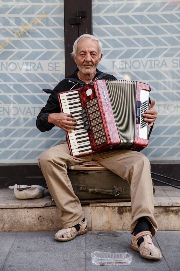 Street Musician Sarajevo