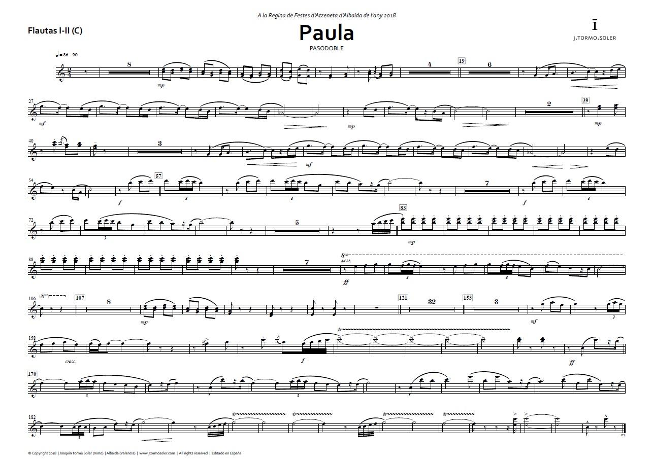 PAULA - Pasodoble