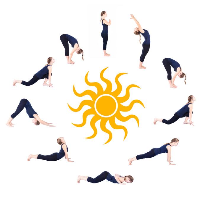 Surya Namaskaram ist Teil der Yoga for Life Yogalehrer Ausbildung in ganzheitlichem Yoga.  Yoga for Life Yogahaus Hörleinsdorf Raum Nürnberg