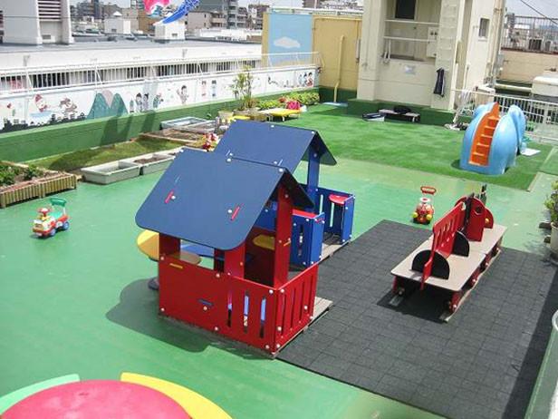 都島第二乳児保育センター 屋上
