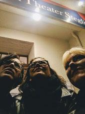 Behind the Flatterband Impro Berlin sie und sie Alex und Bea Zimmertheater Steglitz