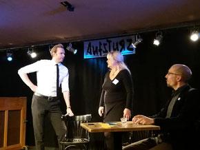 Klubbekanntschaften Improtheater erstes Date Komplimente
