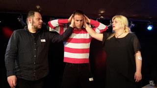 Klubbekanntschaften Komplimente Aufsturz erstes Date Love Improtheater