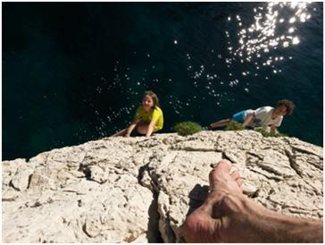 Bouldern über dem Meer - gibt es was Schöneres?!