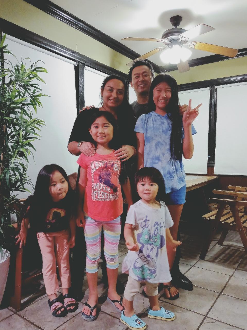 レナータと私の家族
