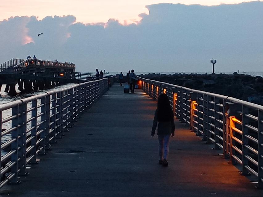 Jetty Parkの桟橋
