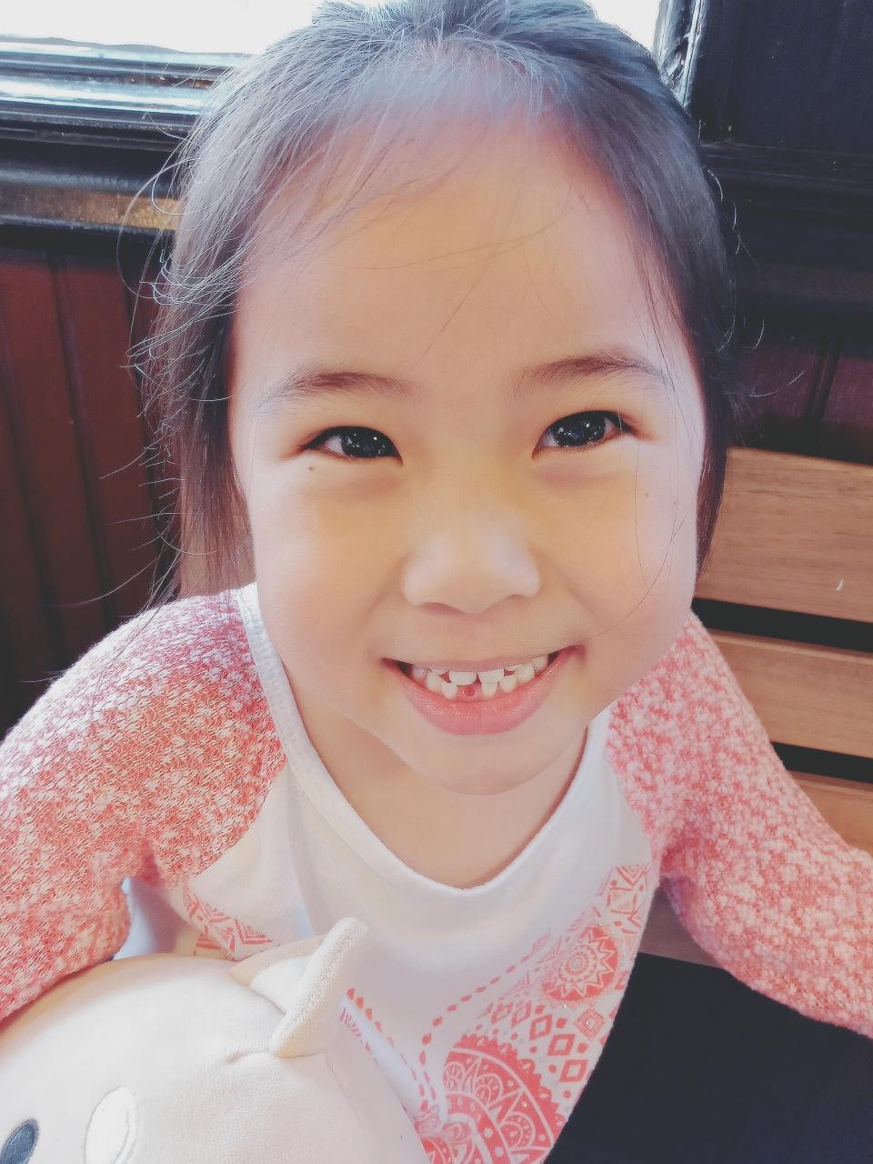 5歳児、初めて歯が抜けた🙌