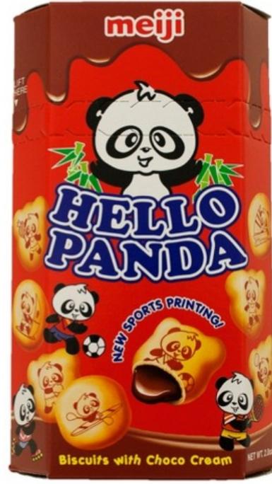 明治の『Hello Panda』🐼