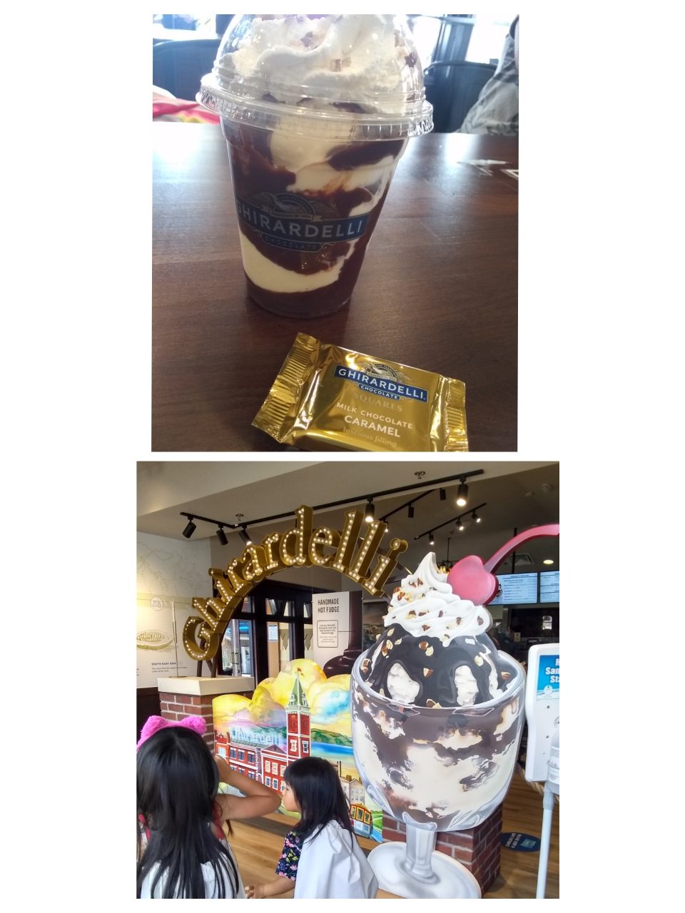 Ghirardelli (サンフランシスコ本店のチョコレーのお店)