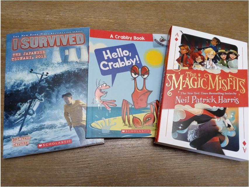 子供たちの選んだ本