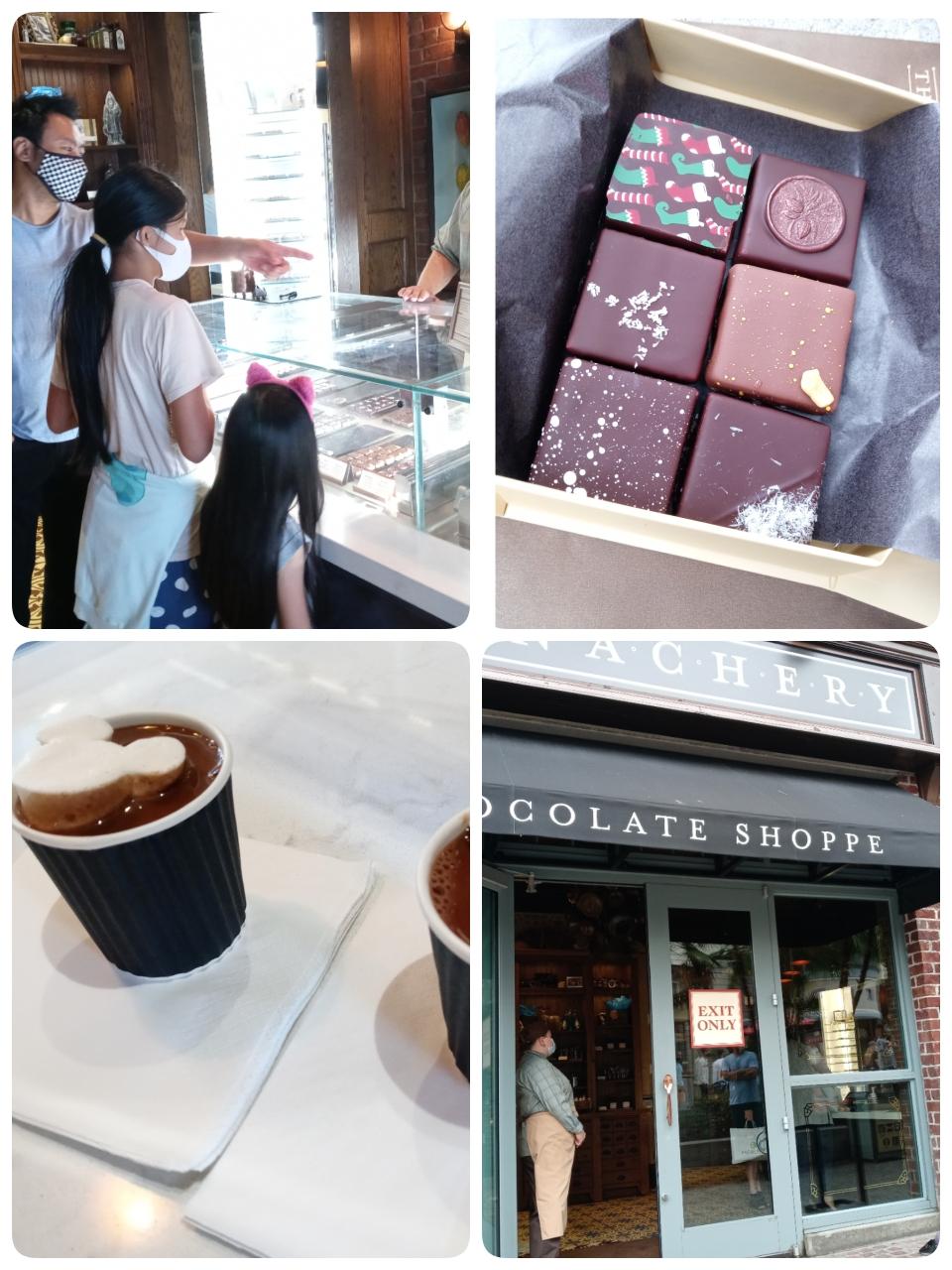 チョコレートのお店🍫美味しすぎてビックリしました😋