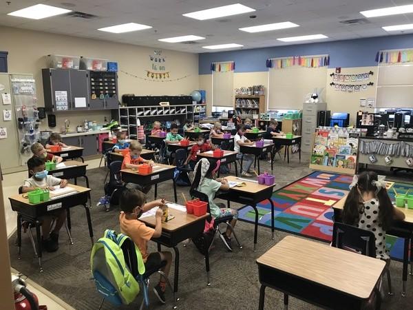 Kindergartenのクラス風景