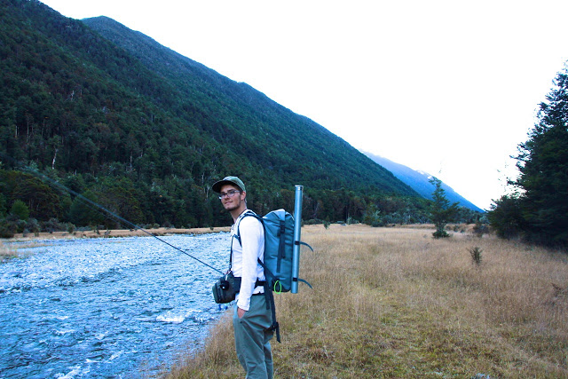 New Zealand Fly fishing nymph fishing and dry fly
