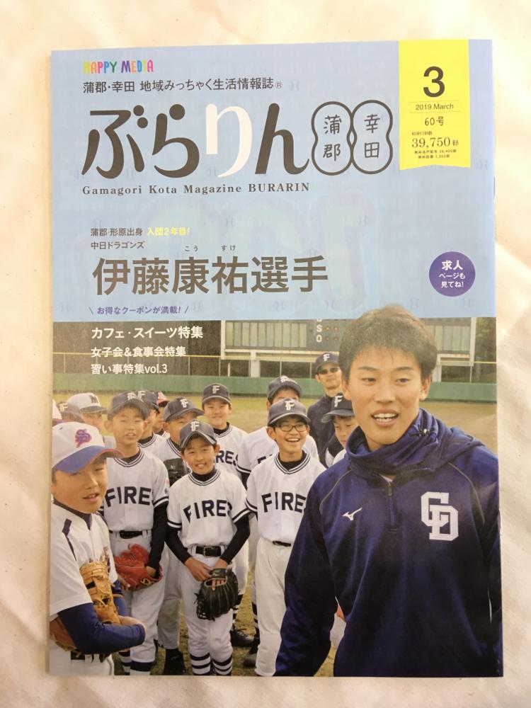 ぶらりん 蒲郡幸田 3月号 表紙