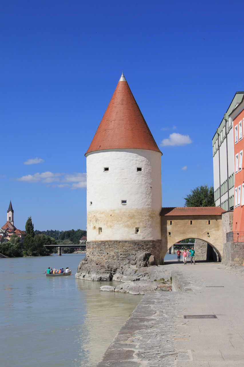 Passau - Schaiblingsturm
