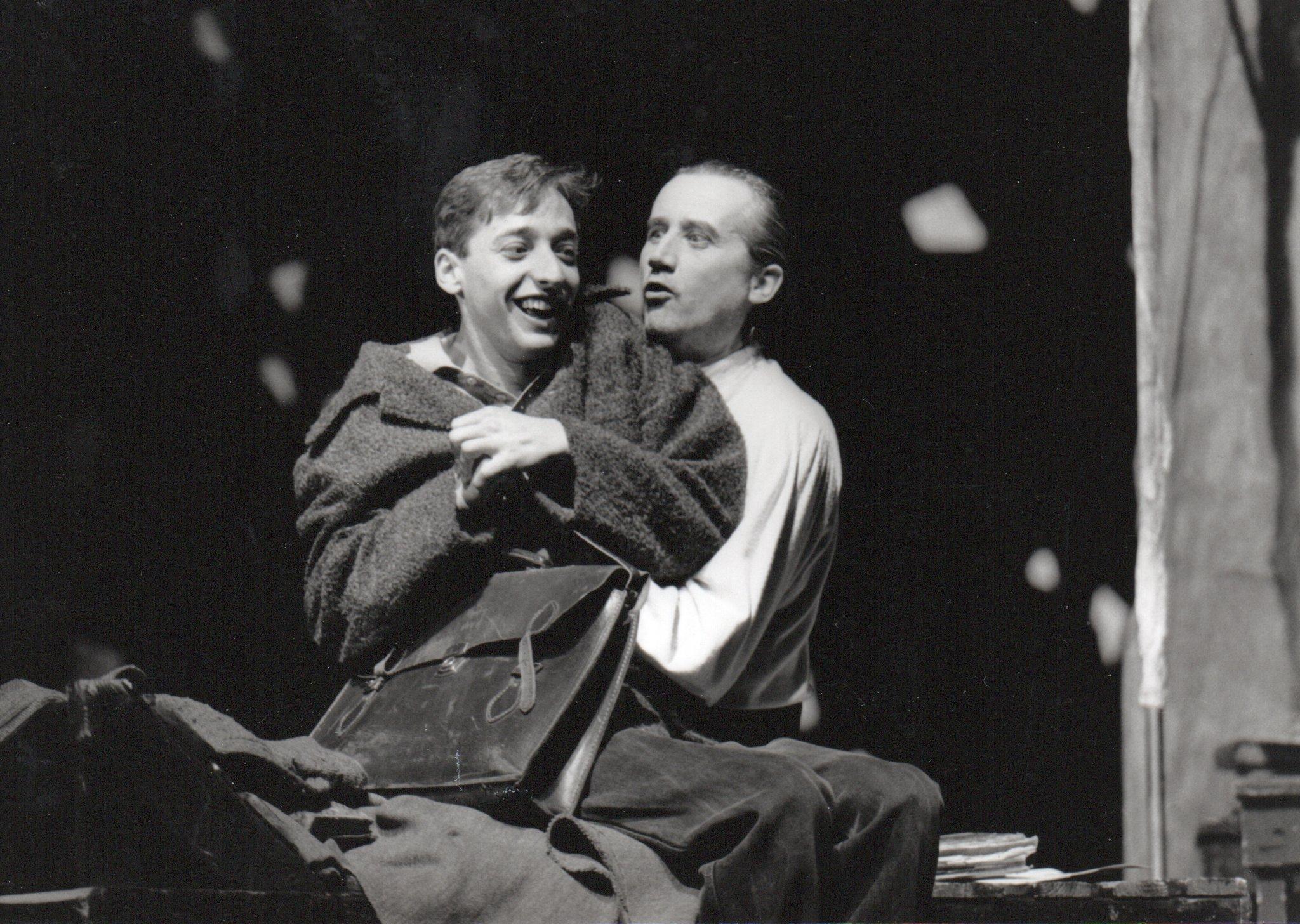 Beat Albrecht als Mephisto in Faust I