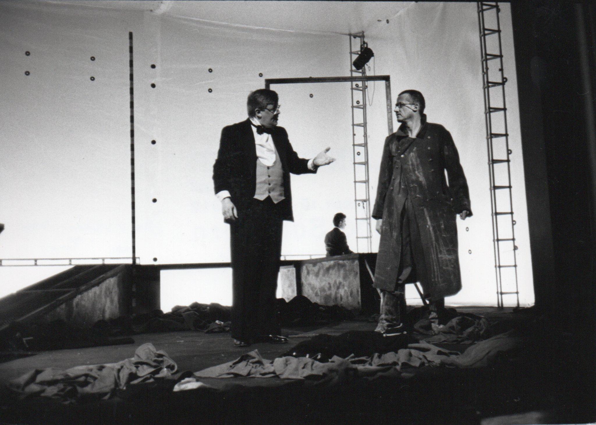 Beckmann in DRAUSSEN VOR DER TÜR von Wolfgang Borchert