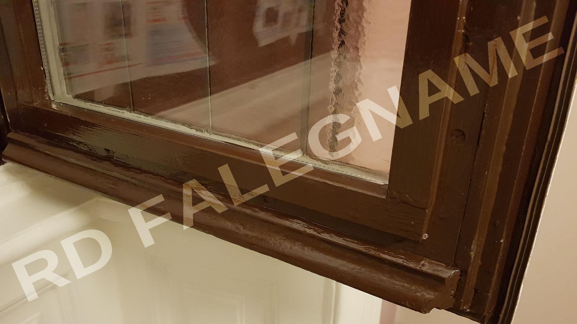 Finestra Rimontata con Fermavetro in legno