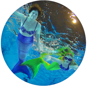 WASSERKINDER Mutter-und-Kind-Mermaiding
