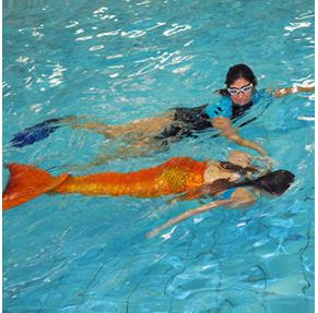 WASSERKINDER Mermaiding-Einzeltraining