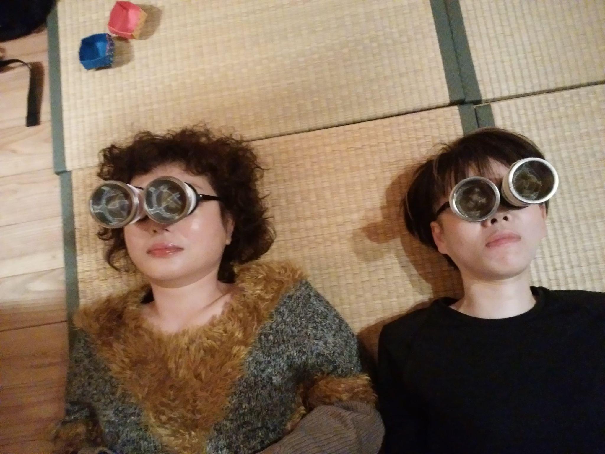 温灸メガネ体験