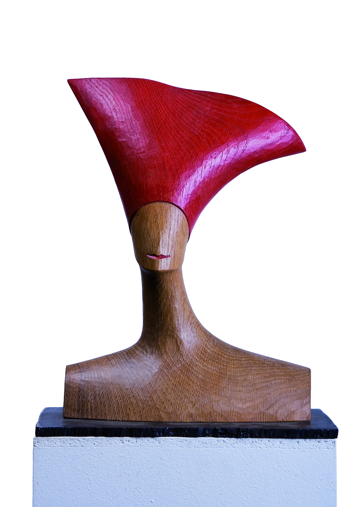 Roter Hut, Eiche, Höhe ca. 35 cm