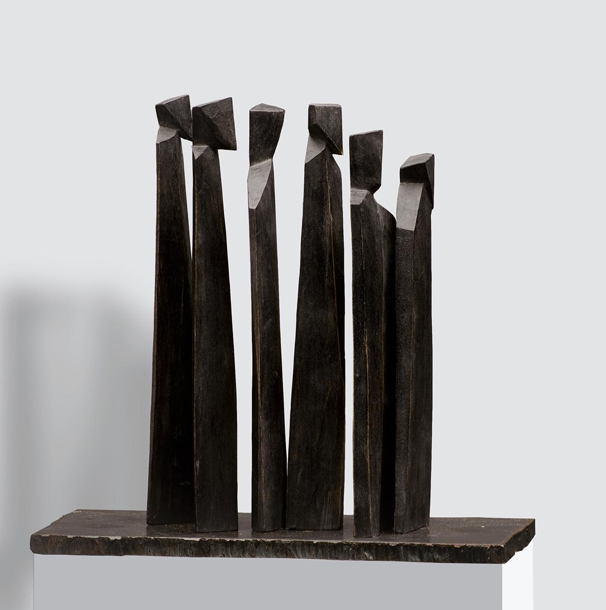 Unterwegs II, Linde, Höhe ca. 10 cm