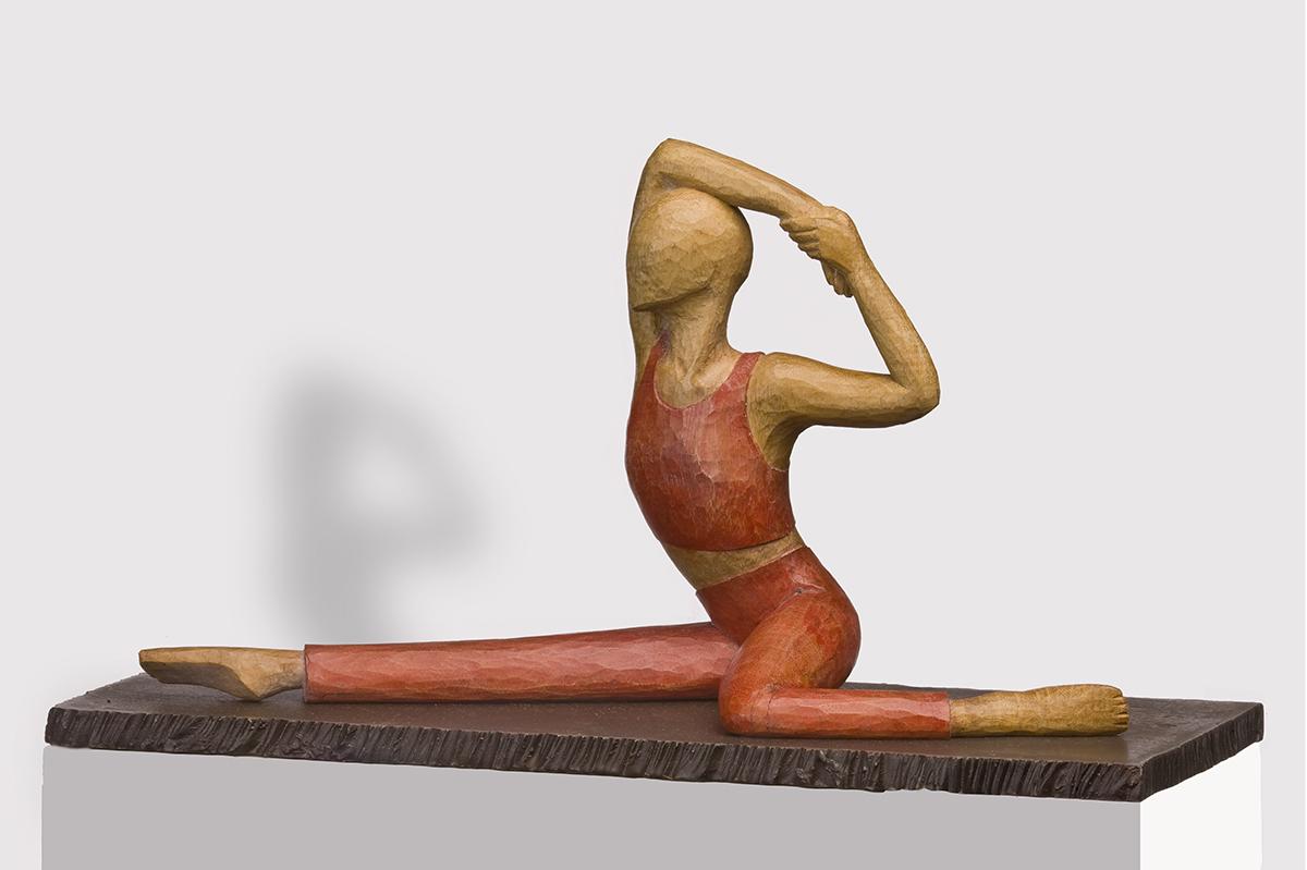 Balett I, Eiche, Höhe ca. 15 cm