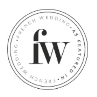 Publication sur blog de mariage French Wedding, de My Daydream Wedding, wedding planner et designer dans le Nord et à Lille