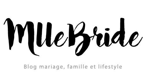 Publication sur blog de mariage Mlle Bride, de My Daydream Wedding, wedding planner et designer dans le Nord et à Lille