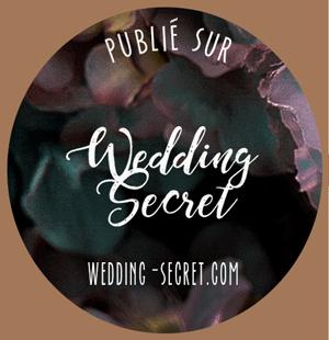 Publication sur blog de mariage Wedding Secret, de My Daydream Wedding, wedding planner et designer dans le Nord et à Lille