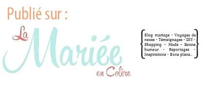 Publication sur blog de mariage La Mariée en Colère, de My Daydream Wedding, wedding planner et designer dans le Nord et à Lille