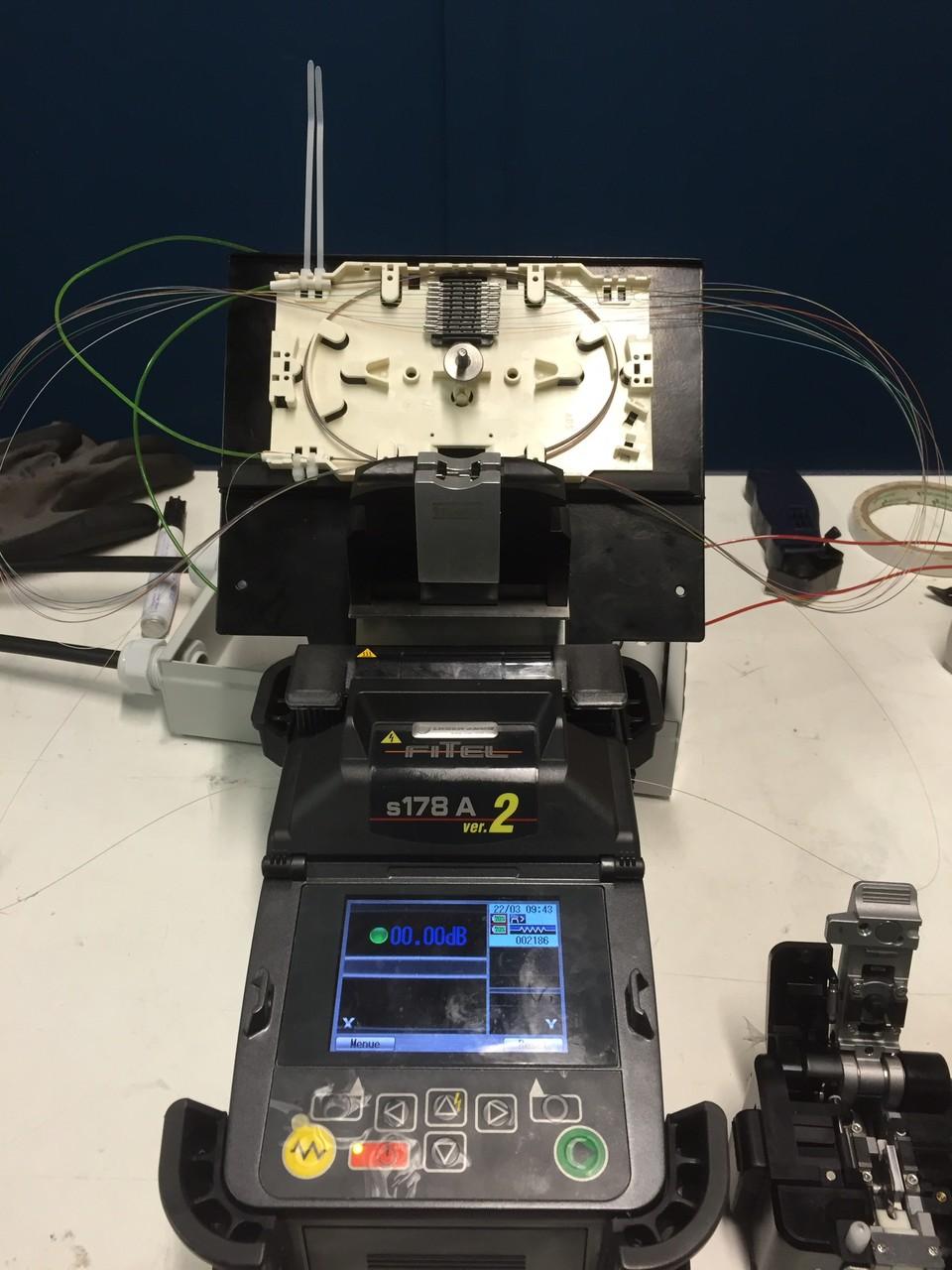 LWL Rep. Muffe setzen an einem 2x12 MM